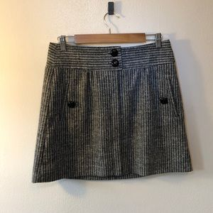 Taikonku Striped Tweed Mini Skirt - 8